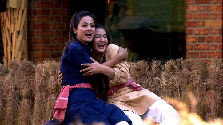Shilpa and Hina