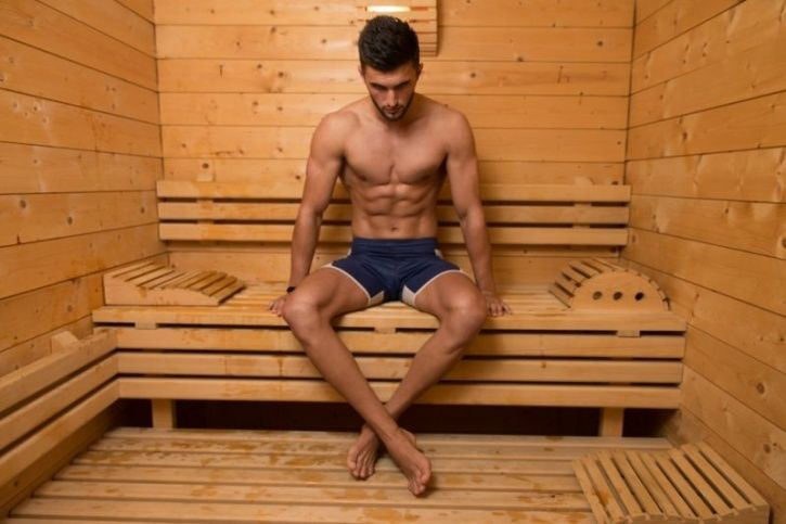 Taking A 30-Minute Sauna Bath Is As Good As A Moderate-Intensity Workout Session