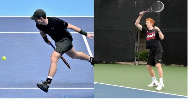 Tennis is a game of power, speed and skill