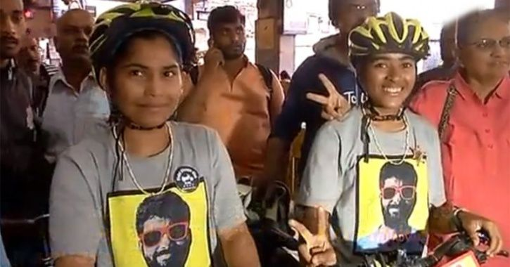 Two Girls Cycle From Kashmir To Kanyakumari