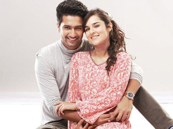 Vicky Kaushal and Angira Dhar