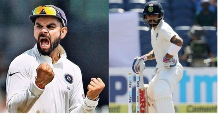 Virat Kohli could not replicate his performance in the second innings