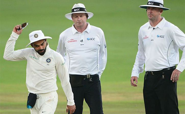 Virat Kohli Slapped With Fine For Behaving Badly With An Umpire