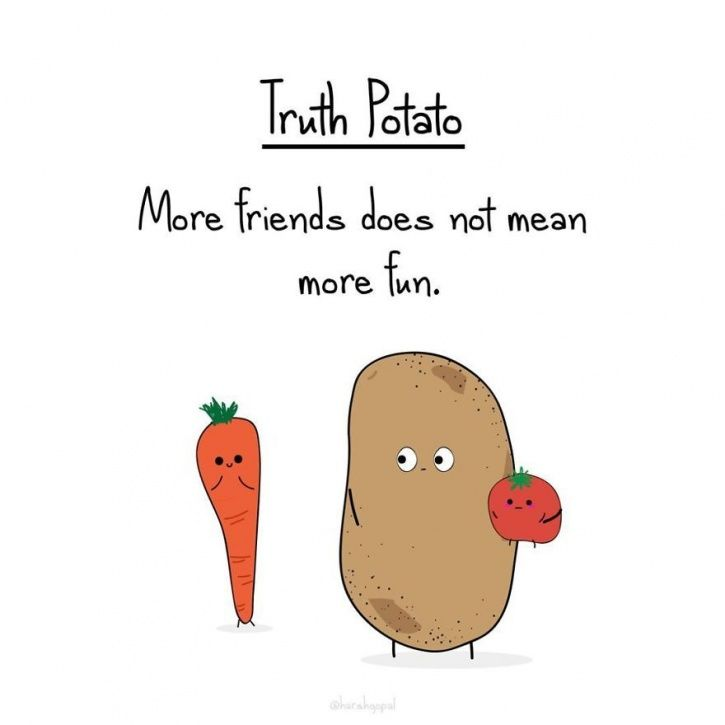41 Bitter Truths About Life By 'Truth Potato' That'll Help You Put Reality Into Perspective
