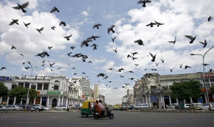 80-Year-Old Georgian-Style Connaught Place Is India