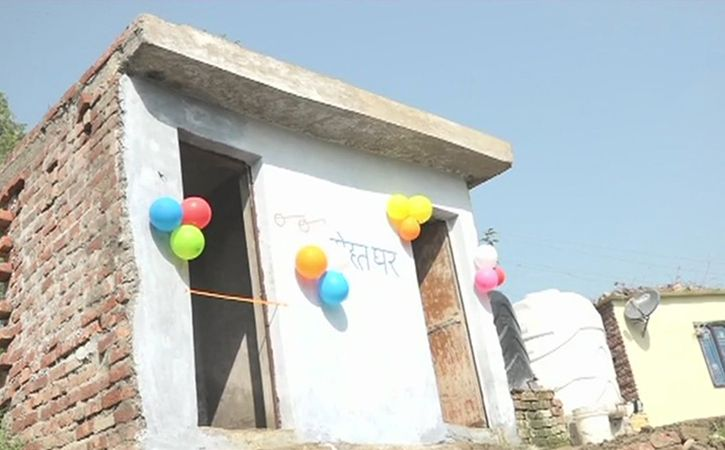 87 year old woman honoured for building toilet