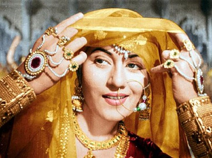 A picture of Madhubala on whom a biopic is being made by her sister.