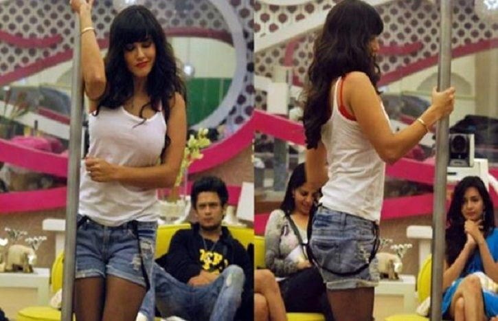 A picture of Sunny Leone from Bigg Boss.