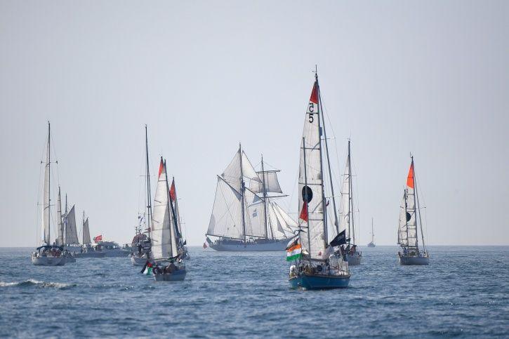 Abhilash Tomy, Naval officer, Golden Globe Race, France