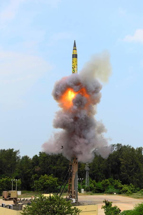 Agni-V, test firing, Odisha, India , China