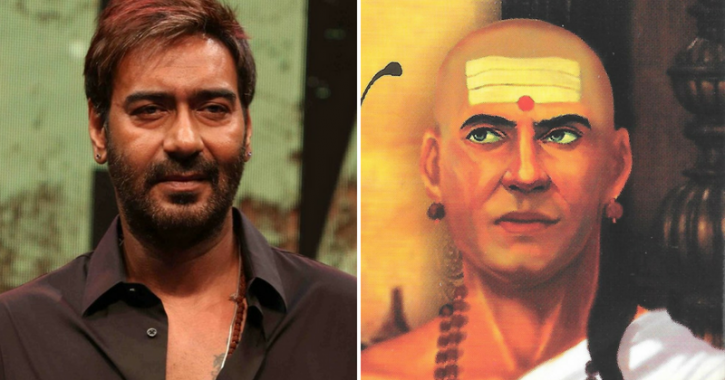 Ajay Devgn Confirms He'll Play The Role Of Chanakya In Director Neeraj Pandey's Upcoming Movie