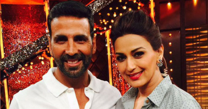 Akshay Rushes To Meet Sonali Bendre After Hearing About Her Cancer Diagnosis, Calls Her A Fighter