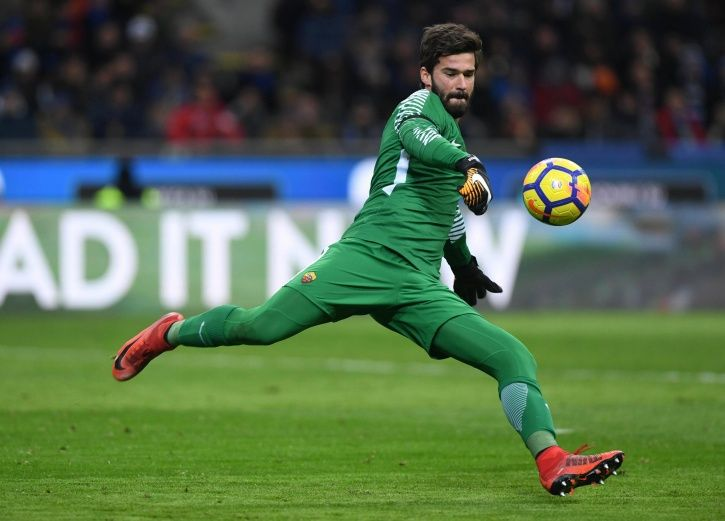 Alisson Becker played the FIFA World Cup