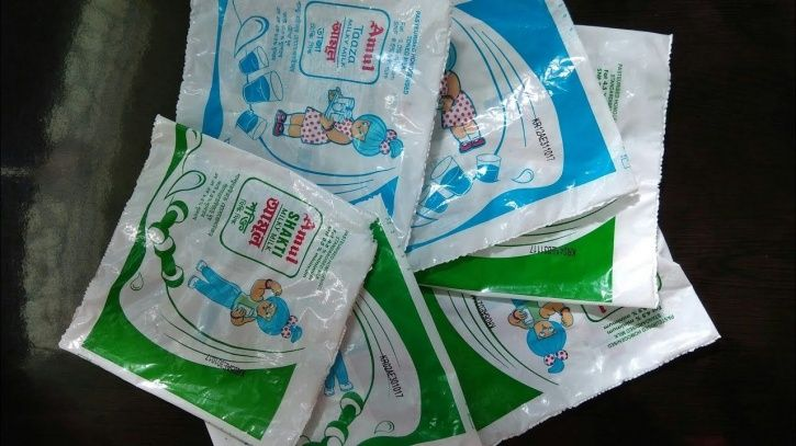 Amul Milk Packets