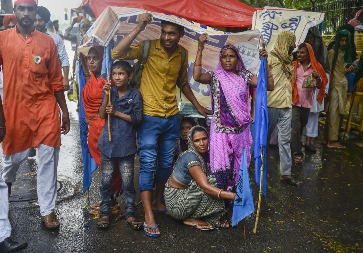 As Anger Swells, Farmers March Against Government Inaction Over Agrarian Crisis & Distress