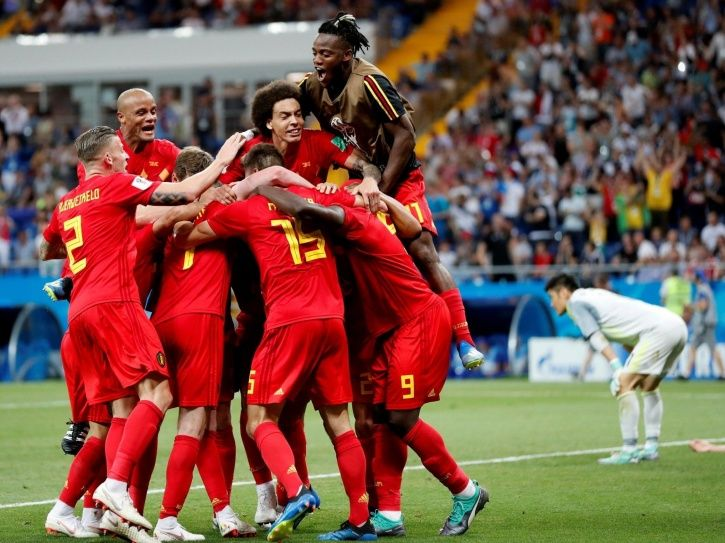Belgium lost to France in the semis