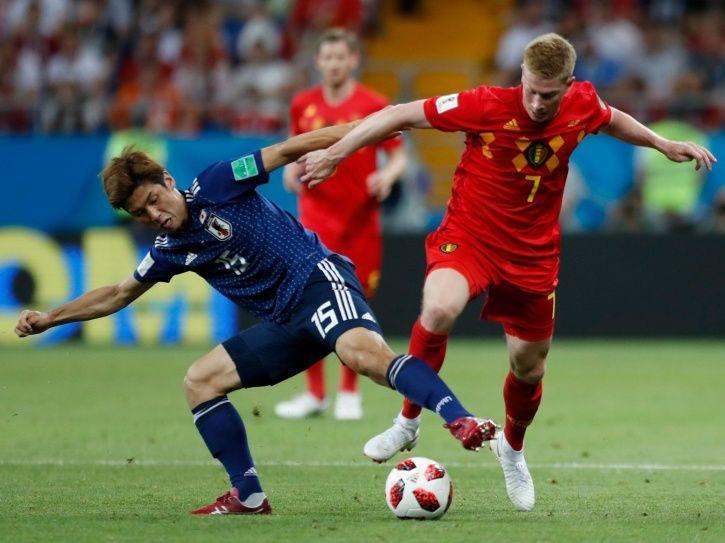 Belgium won 3-2 vs Japan