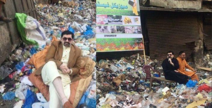 Bizarre election campaigns in Pakistan.