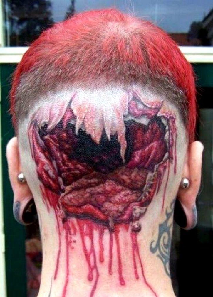 Bizarre tattoos