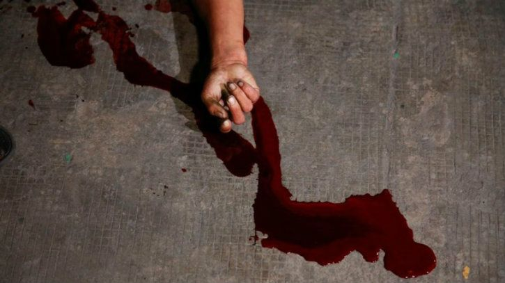 blood hand due to mob lynching based on whatsapp rumours