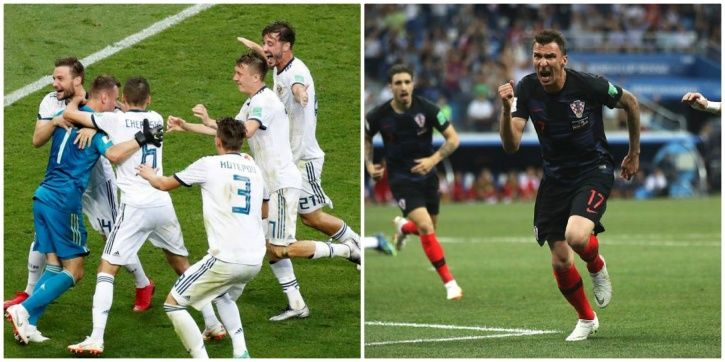 Both matches went into penalties at the FIFA World Cup