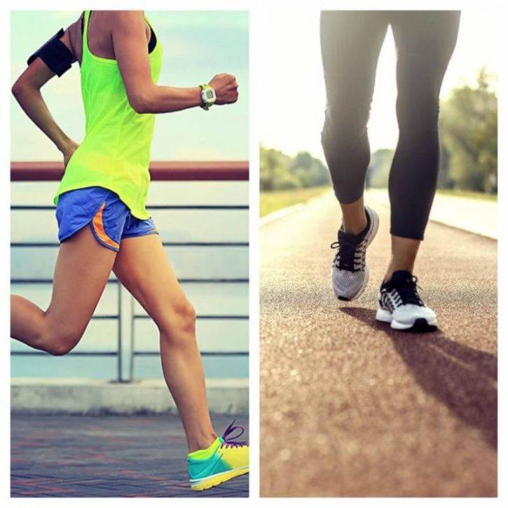 Both Running And Walking Can Be More Beneficial For You, Depending On Your Goal