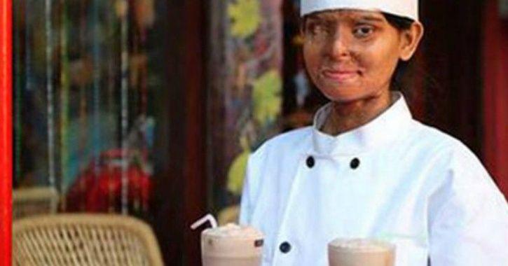 C cafe run by acid attack survivors