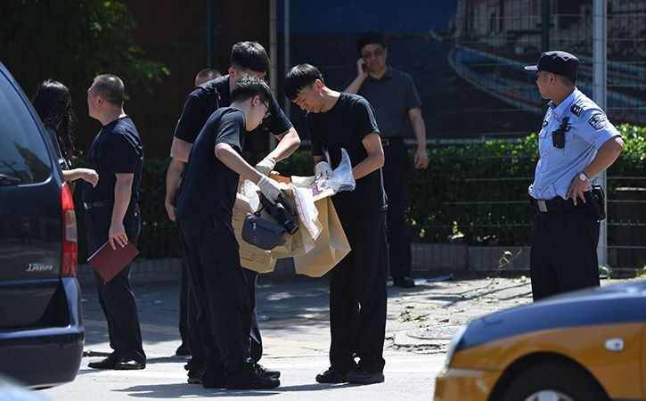 Chinese Man Sets Off Explosive Outside US Embassy In Beijing