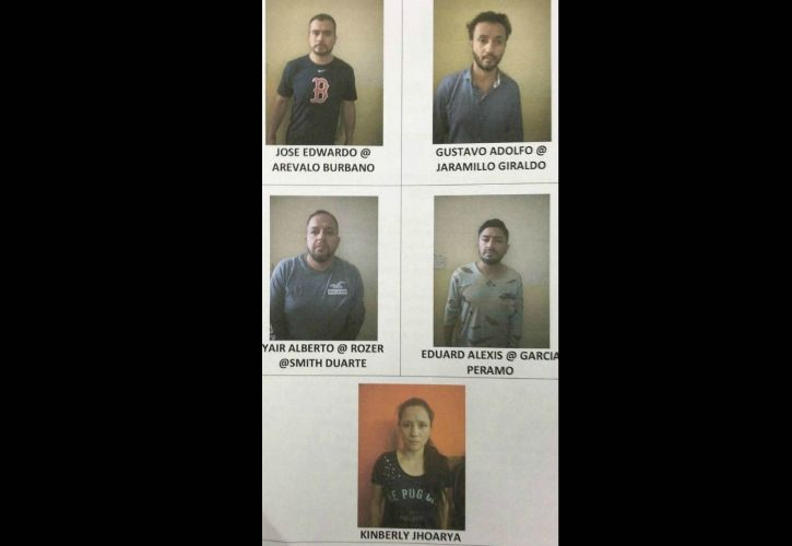 Colombian Burglary Gang Busted