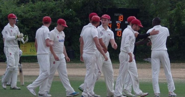 Cricket team all-out for 18