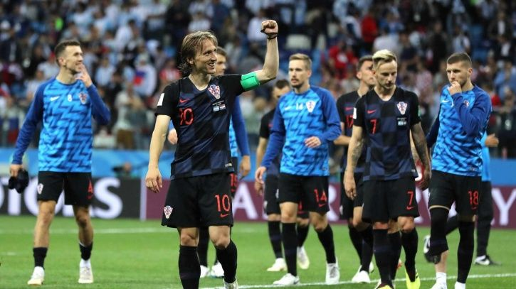 Croatia are in the FIFA World Cup final