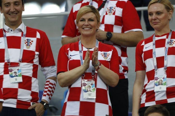 Croatian President Kolinda Grabar-Kitarovic