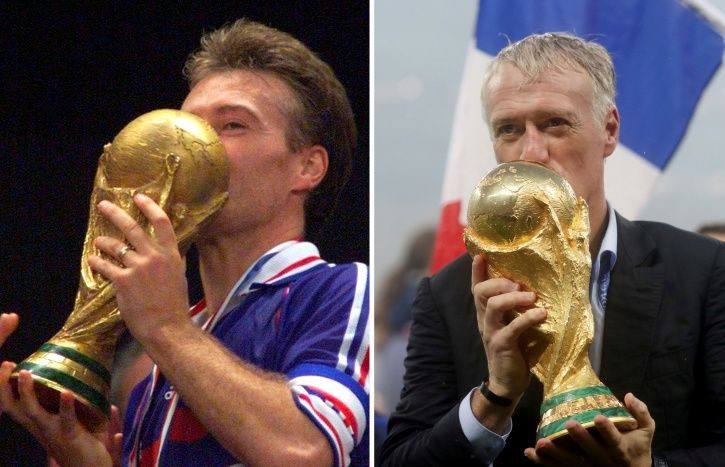 Didier Deschamps is a happy man