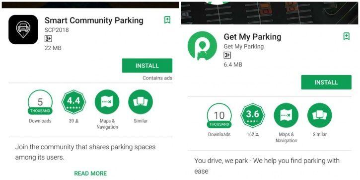digital parking apps, traffic, chaos