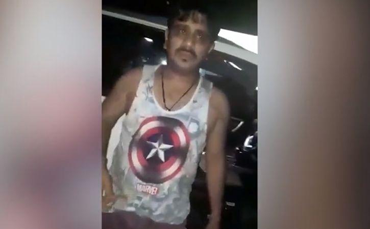 Drunk Cop Dances On Road