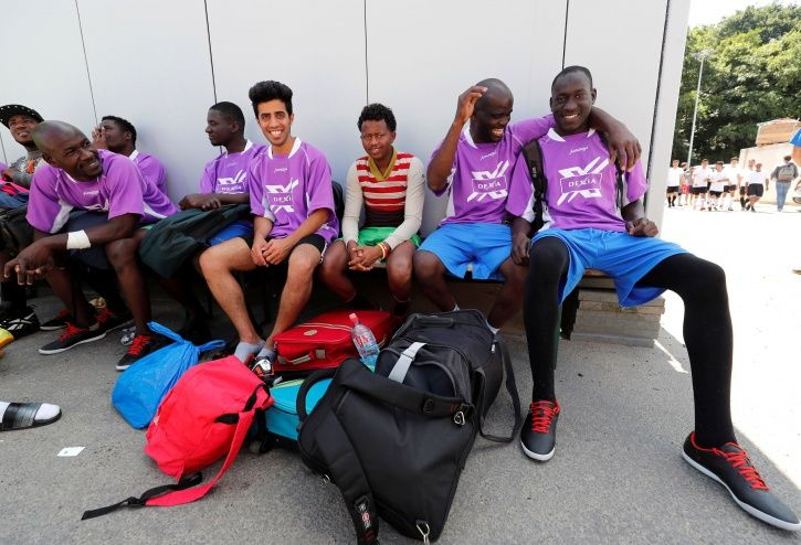 fifa, football, germany, refugees, st. pauli