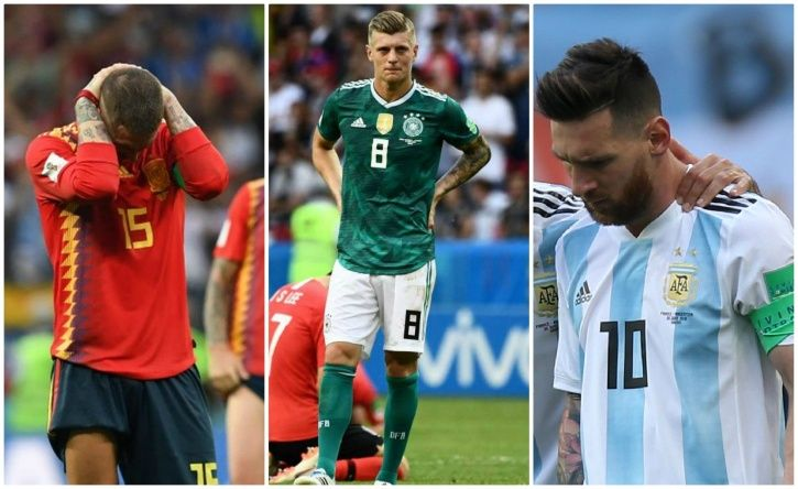 FIFA World Cup 2018 has seen many shock exits