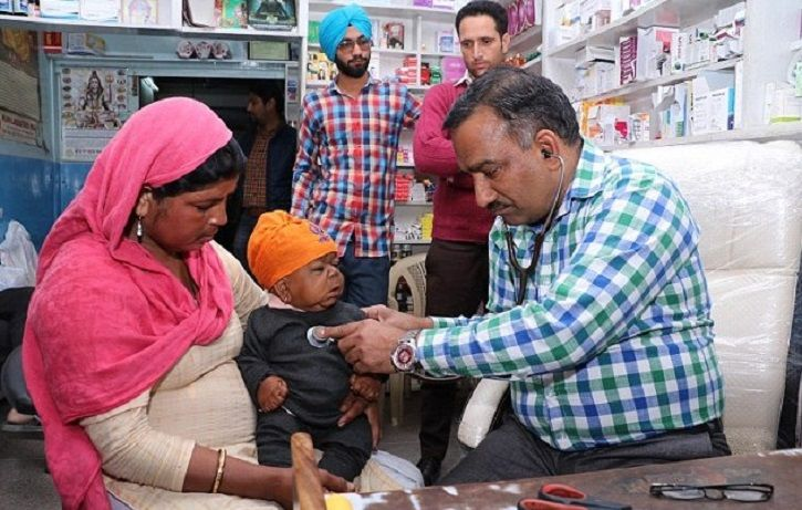 For 22-YO Manpreet, Being Trapped In The Body Of A 6-Month-Old Was More A Blessing Than A Curse.