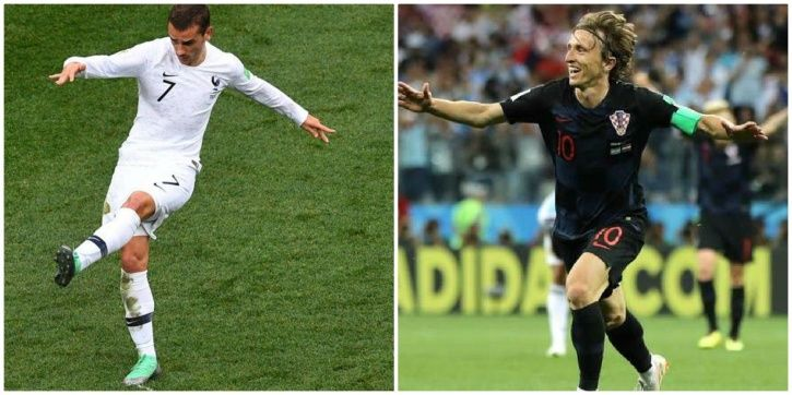 France will play Croatia on July 15