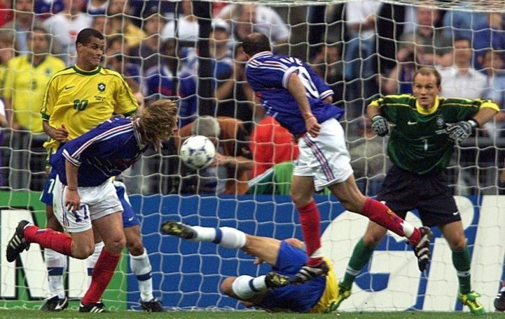 France won 3-0 vs Brazil