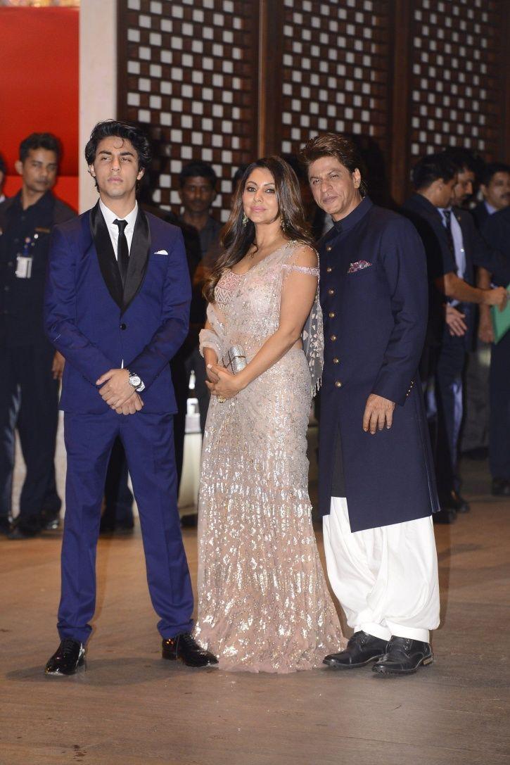 From SRK To Ranbir, B-Town Biggies Made Glitzy Appearances At Akash Ambani-Shloka Mehta's Engagement
