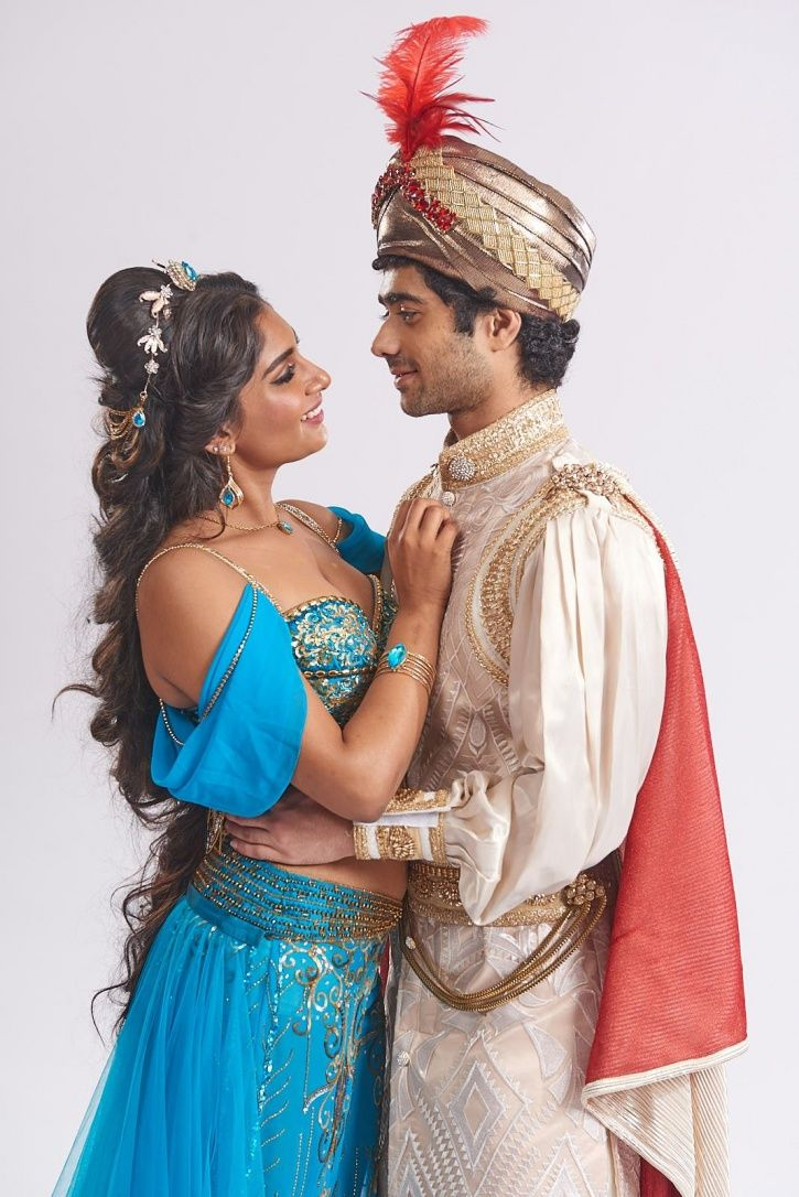 Genie has come to delhi for aladdin musical broadway show