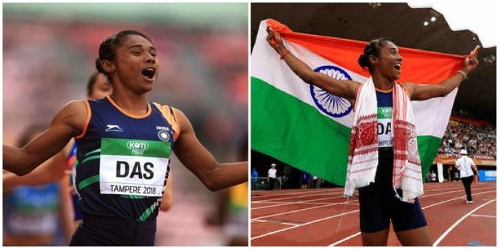 Hima Das is the talk of the town