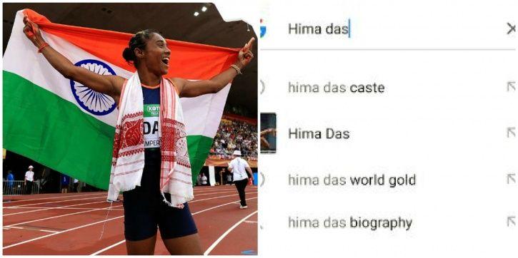 Hima Das won gold in 400m