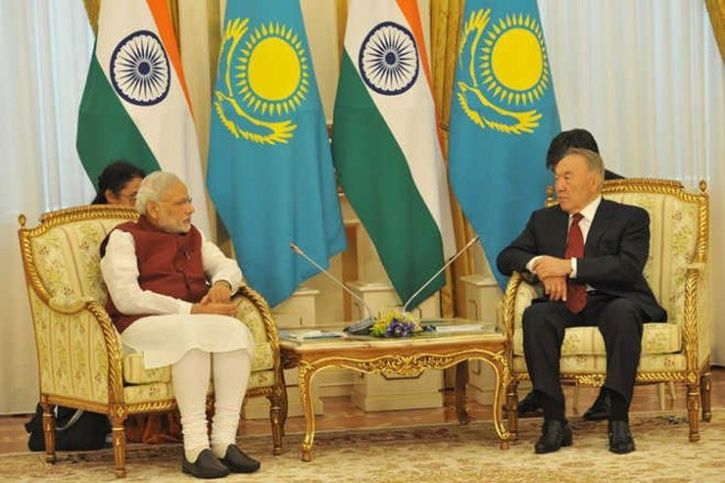 Indian PM and Kazakhstan
