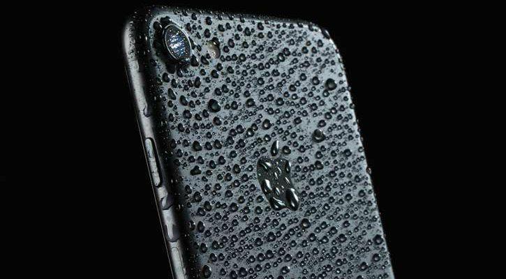 iphone 7 water damage