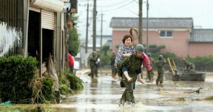 J Japan rains