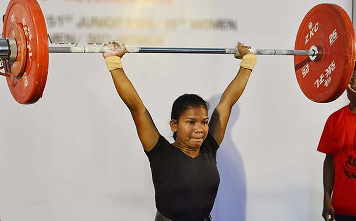 Jhili Dalabehera Powers Her Way To A Bronze In The Junior Weightlifting Championships
