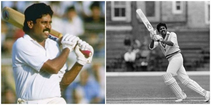 Kapil Dev hit 4 straight sixes at Lord