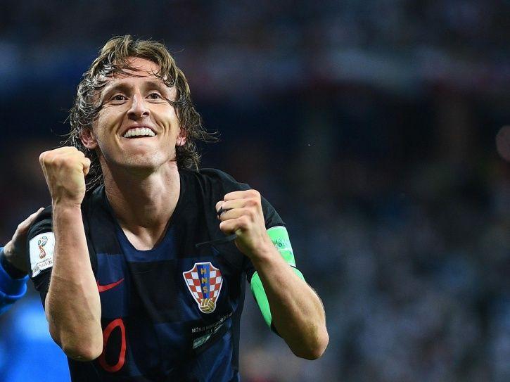 Luka Modric is captain of Croatia